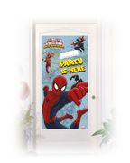 Ultimate Spiderman Web Warriors Dekorativ dørbanner, 1 stk