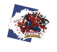 Ultimate Spiderman Web Warriors Invitasjoner - 6 stk
