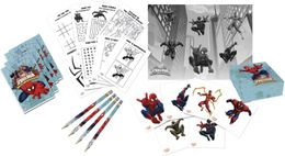 Ultimate Spiderman Web Warriors Aktivitetspakke til 4 personer