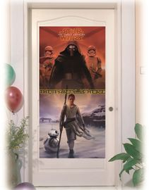 Star Wars The Force Awakens Dekorativ dørbanner, 1 stk