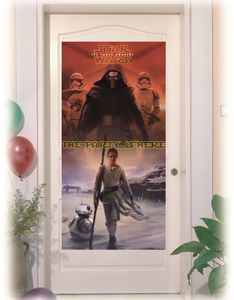 Star Wars The Force Awakens Dekorativ dørbanner,  1 stk (126-86221)