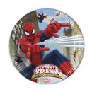 Ultimate Spiderman Web Warriors Papptallerkener, store (23cm) 8stk