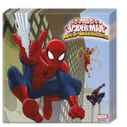 Ultimate Spiderman Web Warriors Servietter - 20 stk