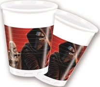 Star Wars The Force Awakens Plastkopper, 200ml (8 stk)