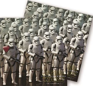 Star Wars The Force Awakens Servietter - 20 stk (126-86215)