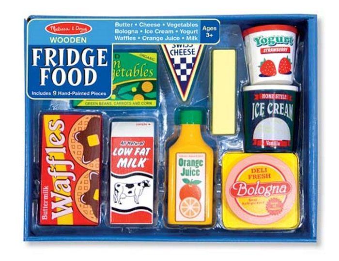 Lekemat/ kjøleskapsmat i tre