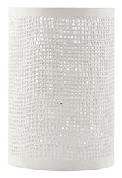 House Doctor Hurricane Hessian H19.5cm, Hvit