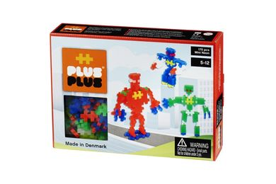Plus-Plus Mini Neon Robots, 170stk (125-2-594)