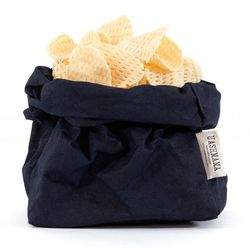 Uashmama Small Paper Bag, Dark-blue