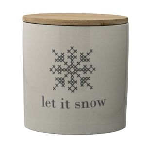 "Cross Krukke m/lokk, ""Let-it-snow"""