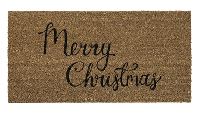 "Bloomingville XMAS Kokosmatte ""Merry Christmas"" 40x80cm (152-76200016)"