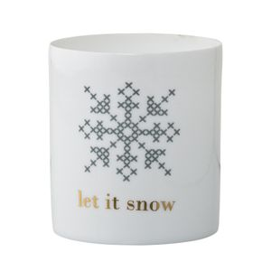 "Bloomingville XMAS Telysestake ""Let it snow"" (152-75204204)"