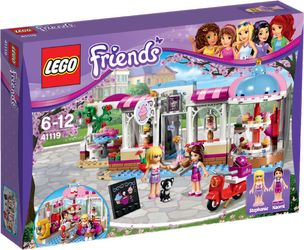 LEGO® Friends Heartlakes cupkake-kafé med scooter