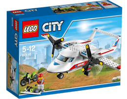 LEGO® City Ambulansefly - med minifigurer