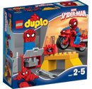 Lego® Duplo Spidermans MC-verksted med Spiderman-figur