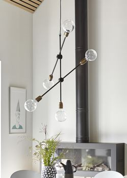 House Doctor Lampe Molecular Justerbar,  H78cm (151-Cb0811)