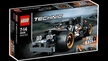 LEGO® Technic Fluktbil, med pull-back motor