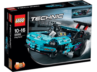LEGO® Technic Dragracing-bil/ dragster, 2-i-1 modell