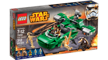 Lego® Star Wars Slaget om Naboo, Flash-Speeder