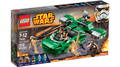 Lego® Star Wars Slaget om Naboo, Flash-Speeder (158-75091)