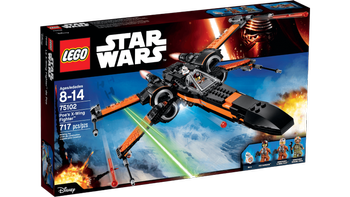 Lego® Star Wars Poes X-Wing Fighter, starfighter