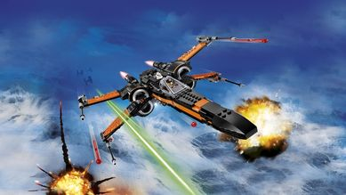 Poes X-Wing Fighter, starfighter