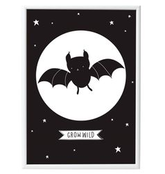 A Little Lovely Company Poster Batman - 50x70