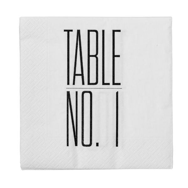 Servietter Table No 1