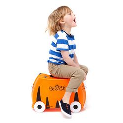 Trunki Barnekoffert Tipu Tiger Orange