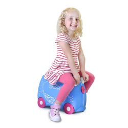Trunki Barnekoffert Pearl Princess lyseblå