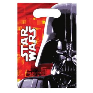 Star Wars Godteposer m/motiv, (6 pk) (126-83240)