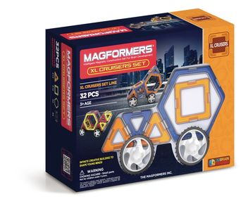Magformers Cruisers Car Set XL (125-3007)