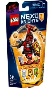 LEGO® Nexo Knights Ultimate Beistmester med dynamittkubber (158-70334)