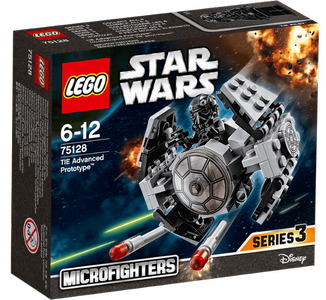 Lego® Star Wars TIE-Advanced Prototype med pilot (158-75128)