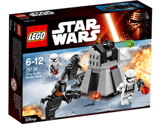 Lego® Star Wars First Orders stridspakke, kontrollsenter