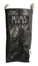 Uashmama Laundry Bag, Black Shiny