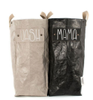 Uashmama Laundry Bag, Black Shiny (199-LAUNLBLK)