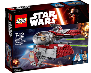 Lego® Star Wars Obi Wans Jedi Interceptor