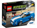 LEGO® Speed Champions Ford Mustang GT, blå