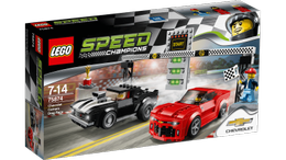 LEGO® Speed Champions Chevrolet Camaro - dragracing