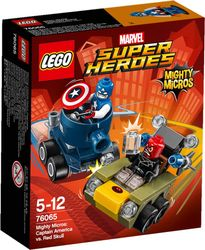 LEGO® Super Heroes Mighty-Micros CaptainAmerica mot RedSkull