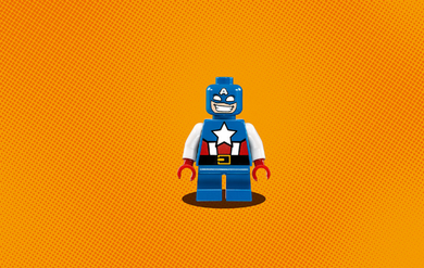 LEGO® Super Heroes Mighty-Micros CaptainAmerica mot RedSkull (158-76065)