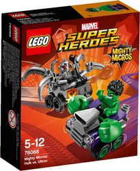 LEGO® Super Heroes Mighty-Micros Hulk mot Ultron