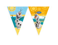 Olaf Summer Triangel flagbanner, 1 stk