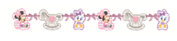 Minnie Mus Infant Silhouette banner, 1 stk