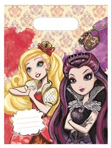 Ever After High Godteposer m/motiv, (6 pk) (126-86033)