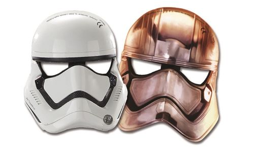 Star Wars The Force Awakens Masker - 6 stk (126-86226)