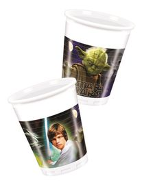 Star Wars & Heroes Plastkopper, 200ml (8 stk)