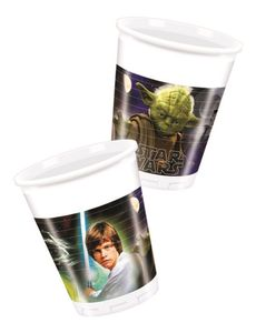 Star Wars & Heroes Plastkopper,  200ml (8 stk) (126-84284)