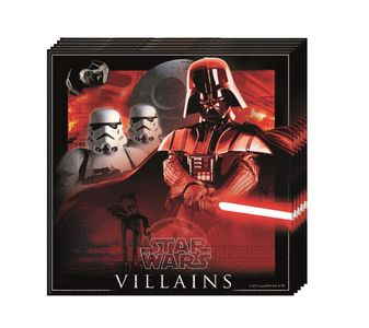 Star Wars & Heroes Servietter - 20 stk (126-84285)